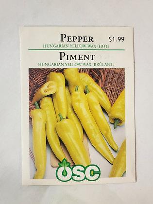 Pepper - Hungarian Yellow Wax (Hot)