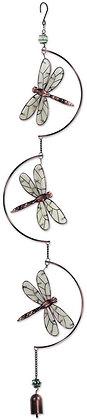 "Dragonfly Glow Dangler 40"""
