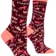 Cats! Crew Socks