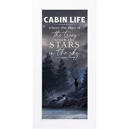 Cabin Life Framed Art