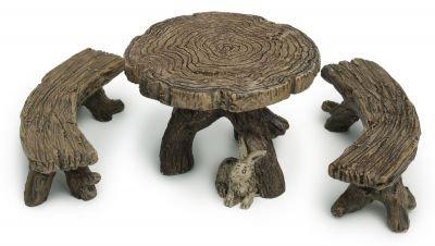 Log Table & Bench