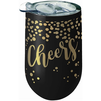 Cheers Stainless Wine Tumbler