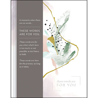 These Words Are For You Book