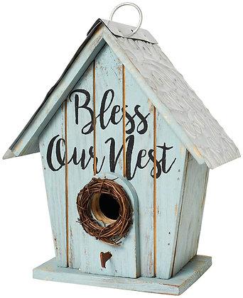 Bless Our Nest Birdhouse
