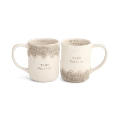 True Friends Mugs (set of 2)