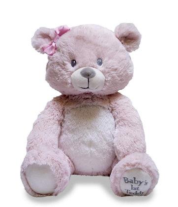 First Lullaby Teddie - Pink