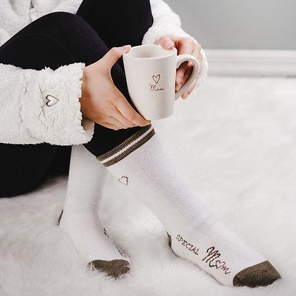 Mom - Ladies Crew Socks