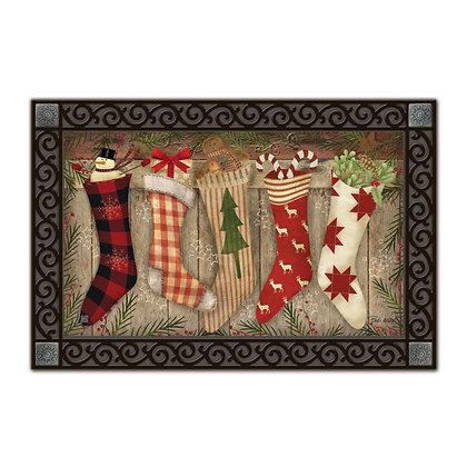 Christmas Stockings Matmate