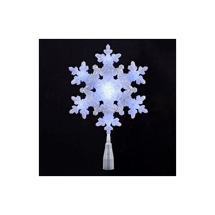 Snowflake LED Tree Topper