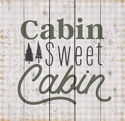 Cabin Pallet Decor