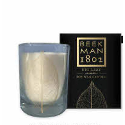 Fig Leaf Soy Wax Candle