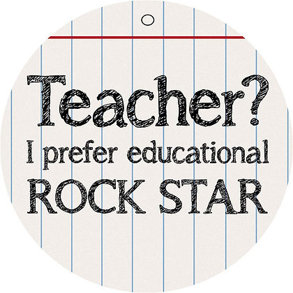 Educational Rockstar Coaster