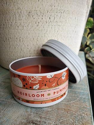 Small Heirloom Pumpkin Tin