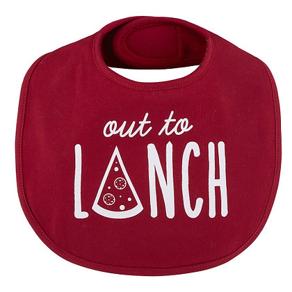 Out to Lunch Bib 3-12 mo