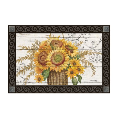 Farmhouse Sunflower Matmate