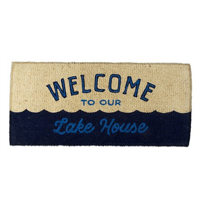 Welcome to our Lakehouse Coir Mat