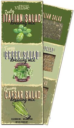 Salad Dressing Seasonings Trio