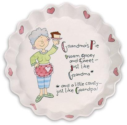 Grandmas Pie - Pie Plate