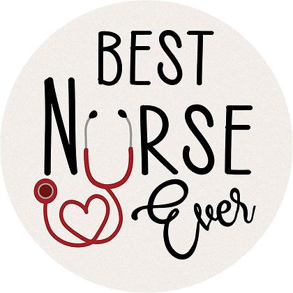 Best Nurse Ever Coaster