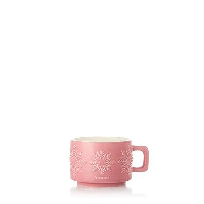 Hot Cocoa Raspberry Mug Candle