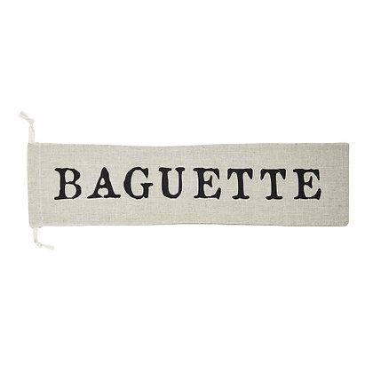 Drawstring Baguette Bag