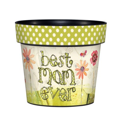 Best Mom Ever Art Pot