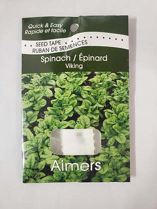 Spinach - Viking Seed Tape
