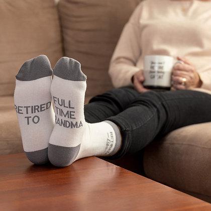 Full Time Grandma Socks
