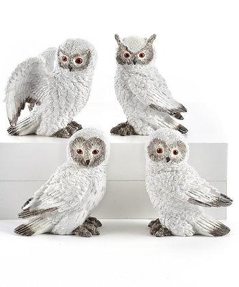 Winter White Owl