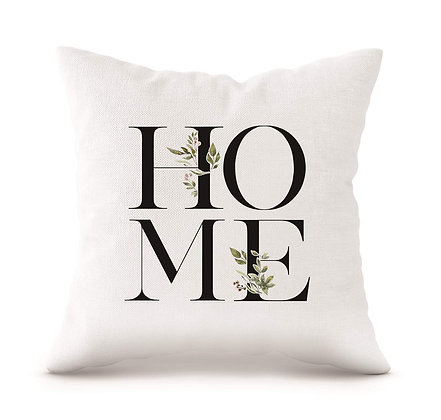 "Home 18"" Decorative Pillow"