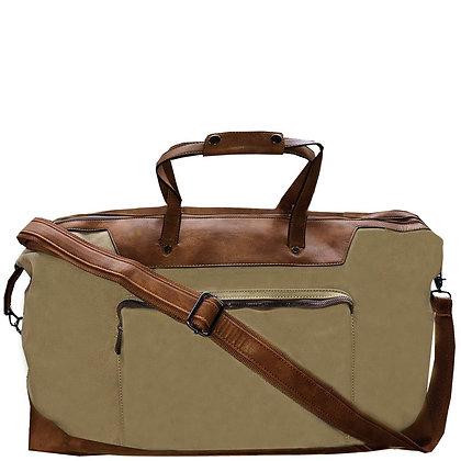 Mens Camel Weekender Bag