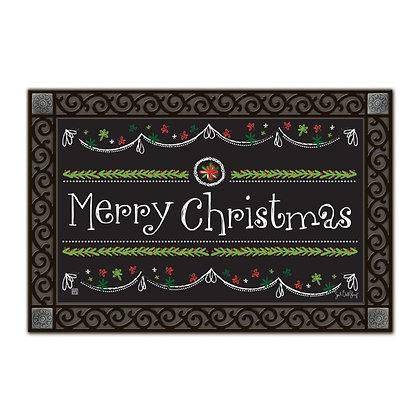 Blackboard Christmas Matmate