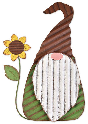 Sunflower Gnome Porch Sitter