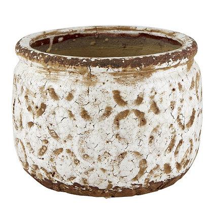 Large Vintage Cream Pot