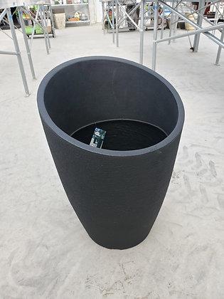 Black Modern Uno Planter