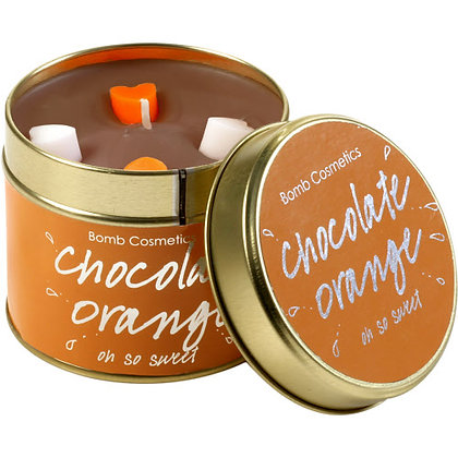Chocolate Orange Tinned Candle