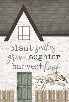 Plant Smiles Word Block