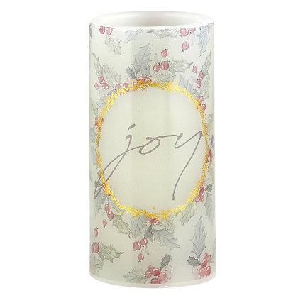 3x6 LED Candle - Joy