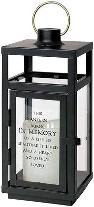 "In Memory - 10"" Lantern"