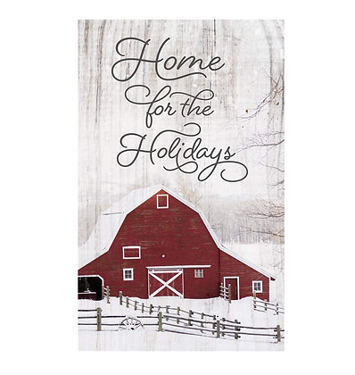 Home For Holiday Pallet Decor