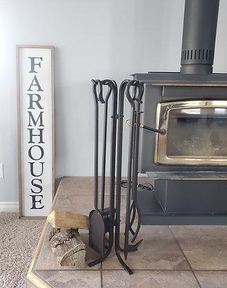 Regular Fireplace Tool Set
