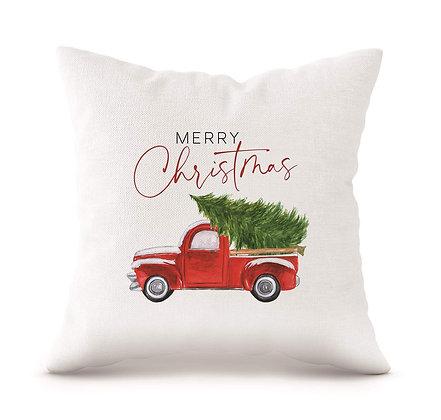 "Merry Christmas 18"" Decorative Pillow"