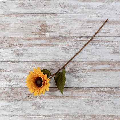 """28"""" Dark Yellow Sunflower Stem"""