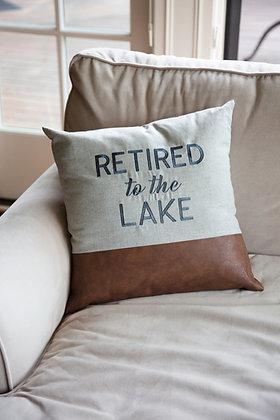 "Lake 18"" Pillow"