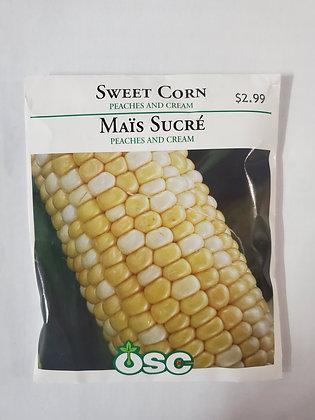 Sweet Corn - Peaches & Cream