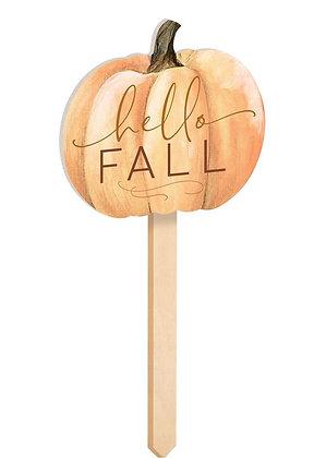 Hello Fall Garden Sign