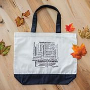 Saskatchewan Tote Bags