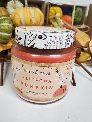 Large Heirloom Pumpkin Candle