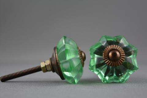 Colored Amber Knobs