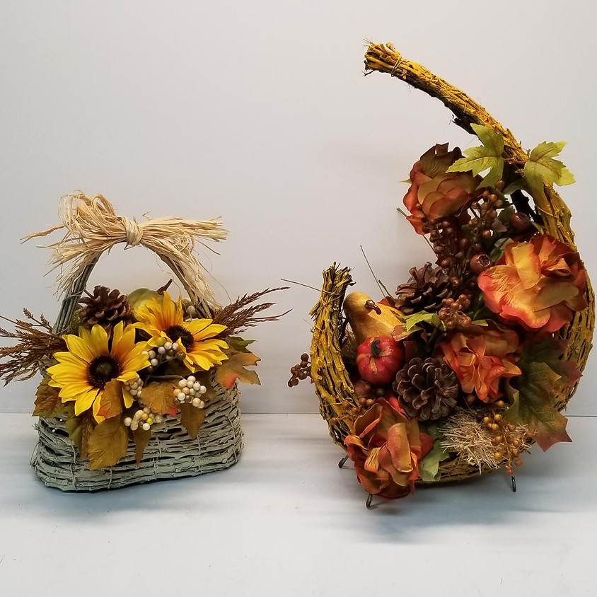 Fall Centerpiece - Basics in Floral Design